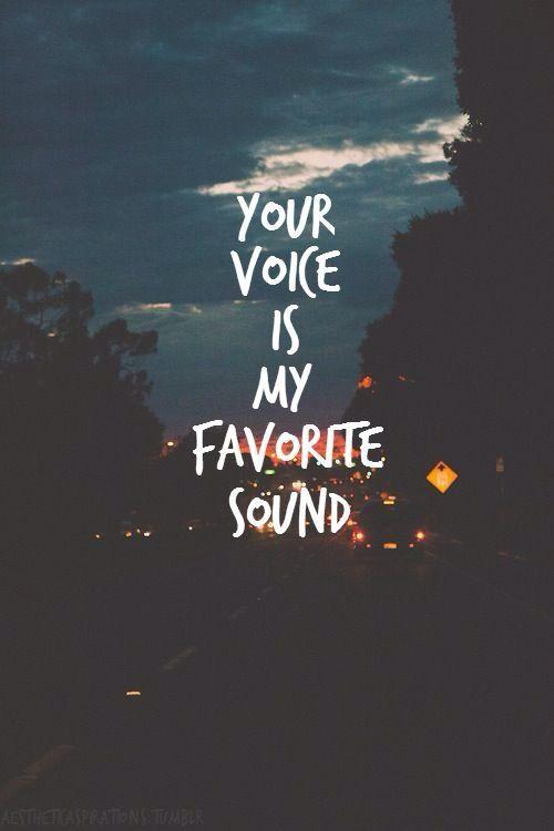 My favorite sound.