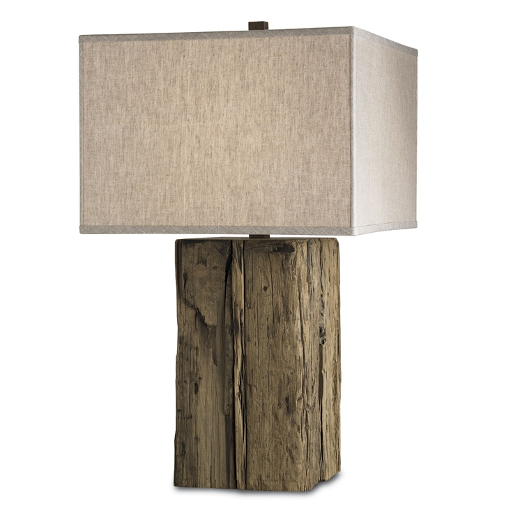 Currey And Company Side Tables: Beam Table Lamp By Currey & Company