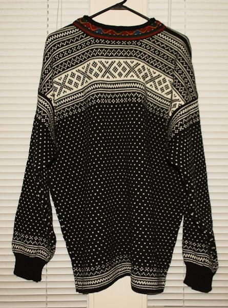 modern Setesdal sweater inspiration