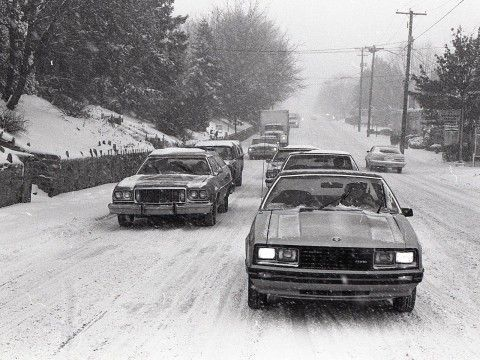 A snowstorm Feb. 11-13, 1983, dumped 25 inches of snow in the Harrisburg area. According to the National Weather Service, it is the biggest storm to hit central Pa. (Allied Pix for The Patriot-News)