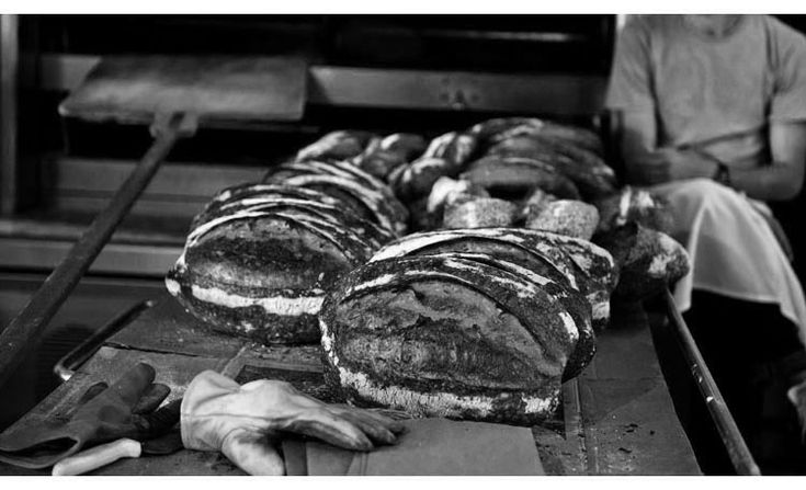 The bread at Tartine Bakery & Cafe in San Francisco is ridiculously good.