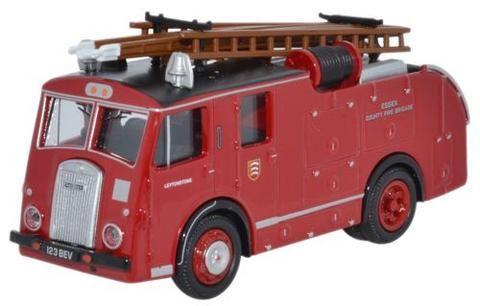 Oxford Diecast Dennis F8 Essex Fire Brigade - 1:76 Scale