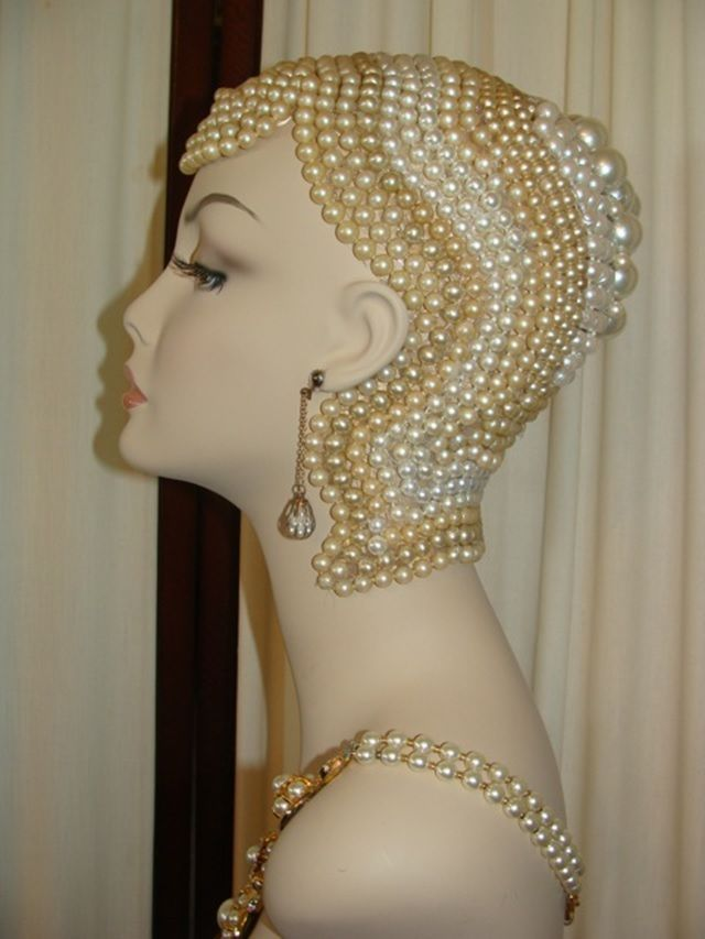 Art Deco inspired Mannequin Heads for Sale -