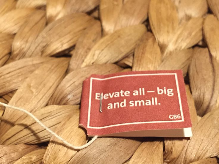 Elevate all - big and small