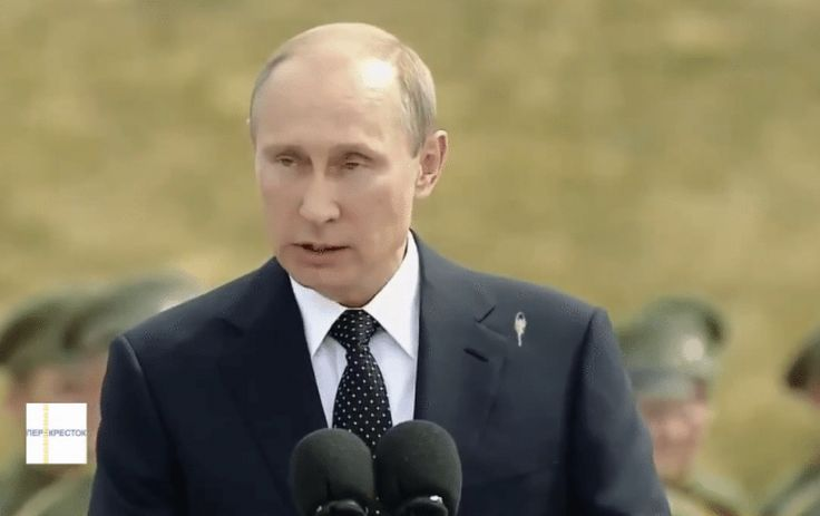 Internet hoaxes of 2014 – a strangely satisfying video that whizzed around YouTube in early August appeared to show a bird taking revenge on Russia's president as he unveiled a monument in Moscow. Alas, Russian versions of the footage show Putin finishing his speech on the dangers of war with his suit jacket and his dignity intact.