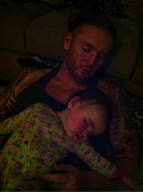 Heath Slater and his daughter Rozalyn