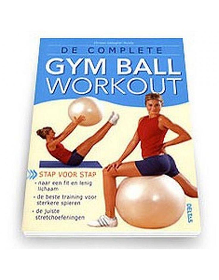 De complete gymball workout (nederlands)  Description: Het Boek'Complete Gymball workout'(Dutch) is ideaal om thuis met de gymball aan de slag te gaan. In dit boek vind je talloze oefeningen om krachtige kernspieren op te bouwen de arm- en beenspieren te trainen en jouw flexibiliteit en coordinatie te vergroten. Alle oefeningen zijn geillistreerd met duidelijke foto's en stapsgewijze instructies waardoor u de gymball zonder moeite efficient en veilig kangebruiken.  Extra: Gemakkelijkere…