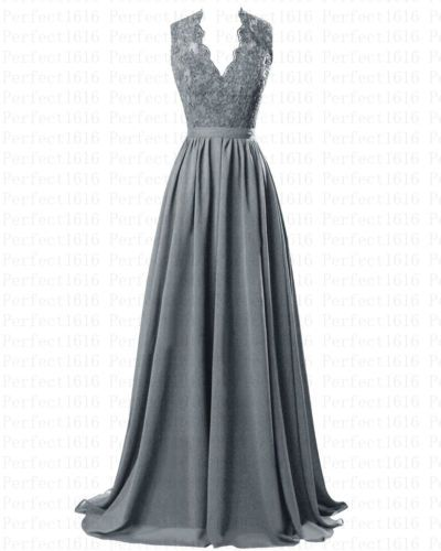 STOCK-New-Long-Chiffon-Formal-Prom-Party-Ball-Bridesmaid-Evening-Dress-Size-6-20