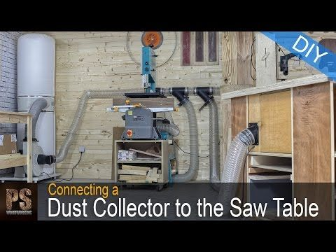 The 25 best homemade router table ideas on pinterest diy connecting a dust collector to the saw router table paoson woodworking youtube keyboard keysfo Image collections