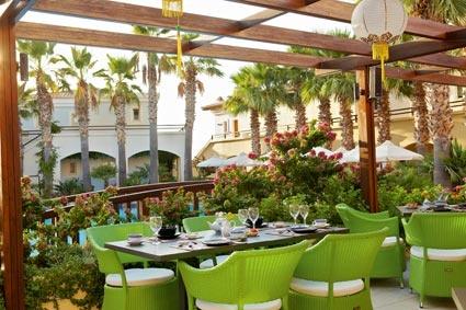 Club Marine Palace, Bamboo Nero Asian Dining