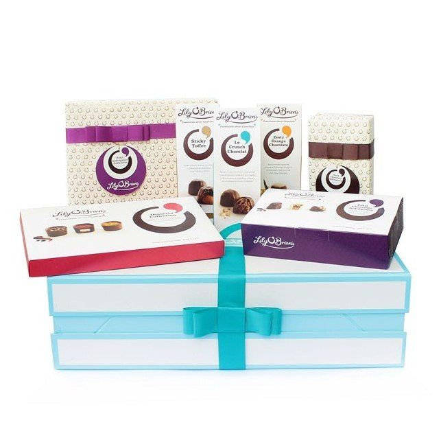 Hamper Box to Spoil, 7 Collections available at LilyOBriens.ie