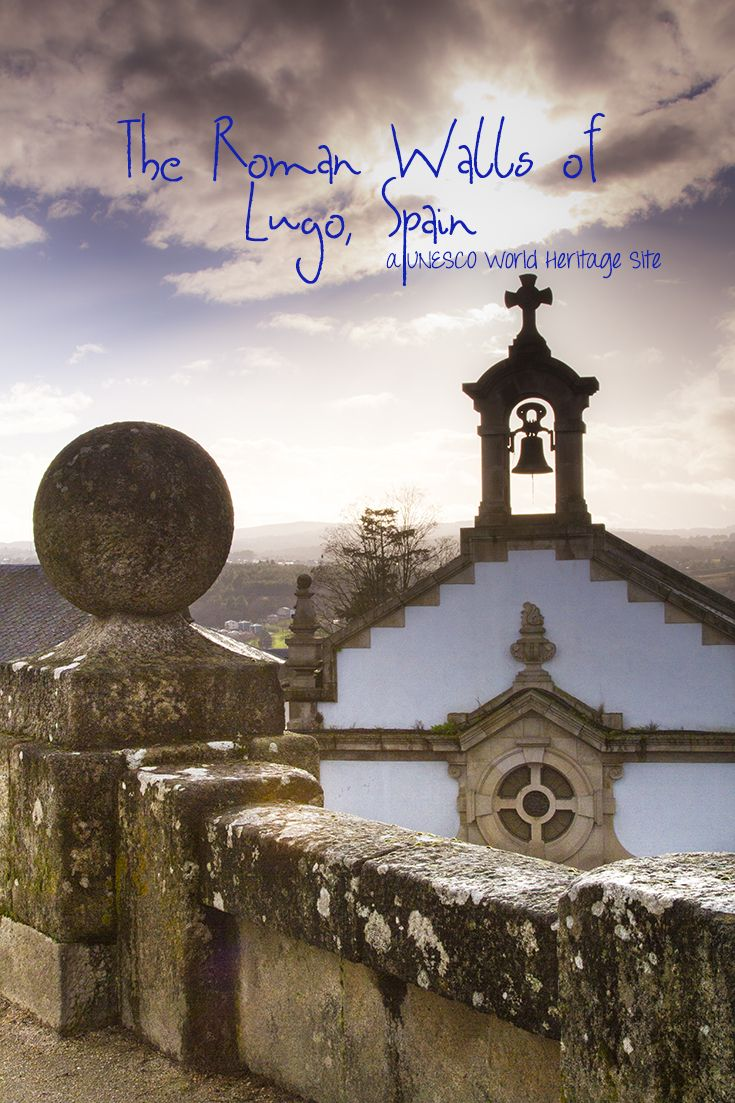 #Roman Walls of #Lugo, #Spain  Take a #walk on this ancient wall and immerse yourself in the splendor of #Espana!