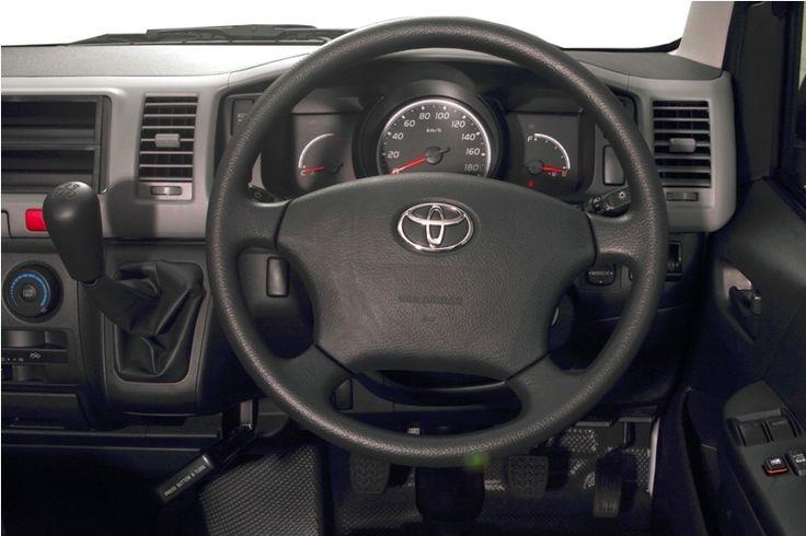 Toyota Auto2000 Hiace Interior Steer Type Commuter