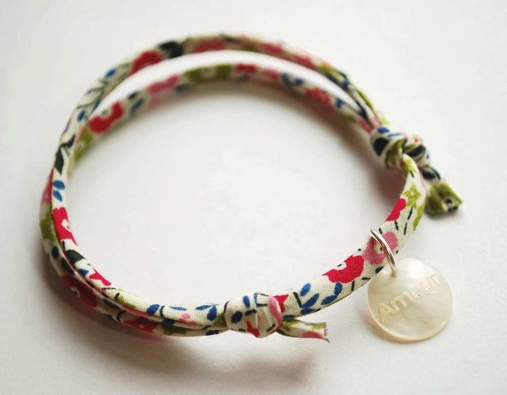 Image of liberty fabric bracelet