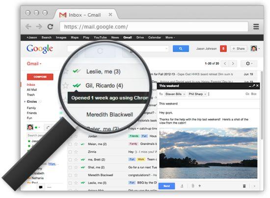 Gmail : recevoir un accusé de réception avec Mailtrack