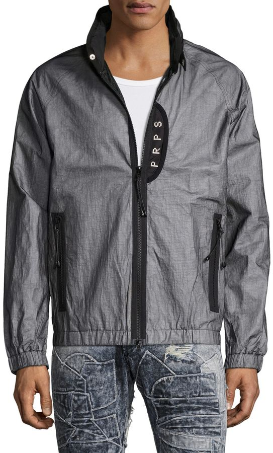 PRPS GOODS & CO. Men's Windbreaker