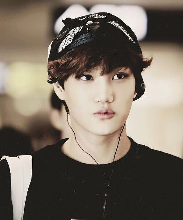 EXO Kai during Wolf Era. So yum. #EXOKai #KimJongin
