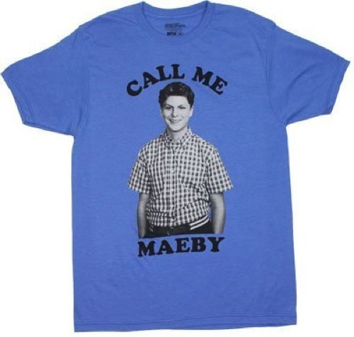Hey, I just met you and this is crazy, but here's my number so call me Maeby! Any true fan of Arrested Development is sure to know all about the awkward relationship between George Michael and his cou
