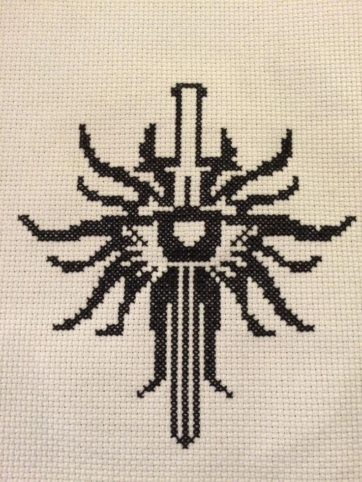 Dragon Age Inquisition Cross Stitch - NEEDLEWORK