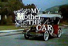 """My Mother, The Car - 1965-1966 Jerry Van Duke .1960s comedy show Frm bd: """"Memories of Good TV Viewing..."""""""