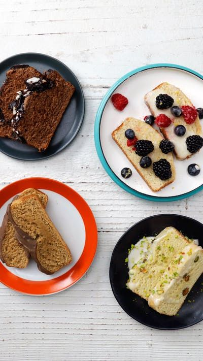 With self-rising flour and the ice cream of your choice, make breads like the pistachio lime, cappuccino chocolate, cookies 'n' cream and vanilla bean berry flavors here.