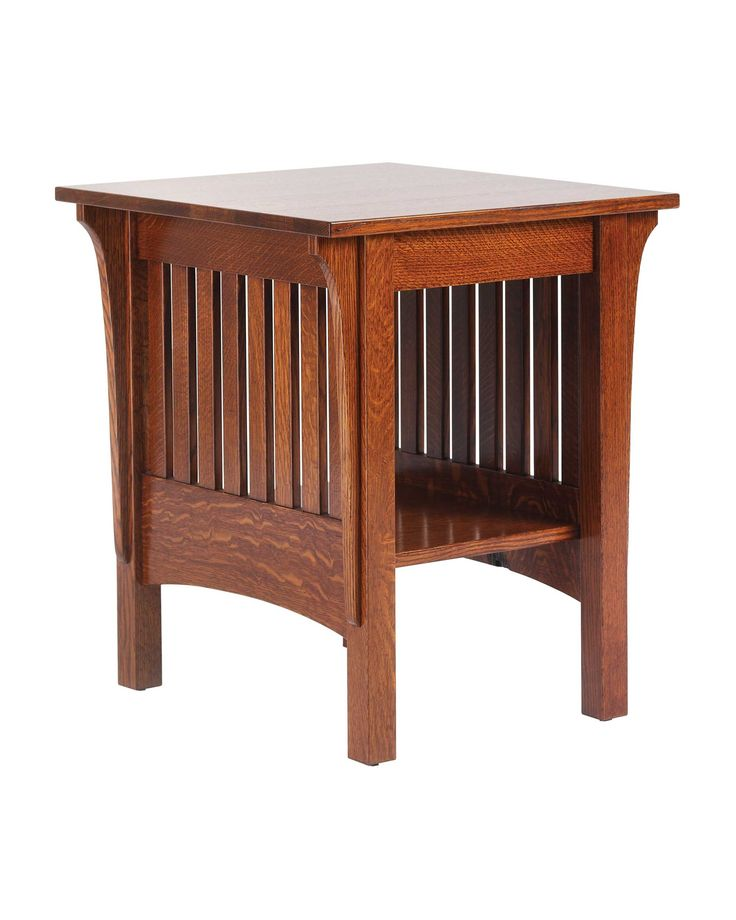 Frontier Amish Furniture 1800 Mission End Table