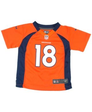 Nike Baby Peyton Manning Denver Broncos Game Jersey - Orange 24M
