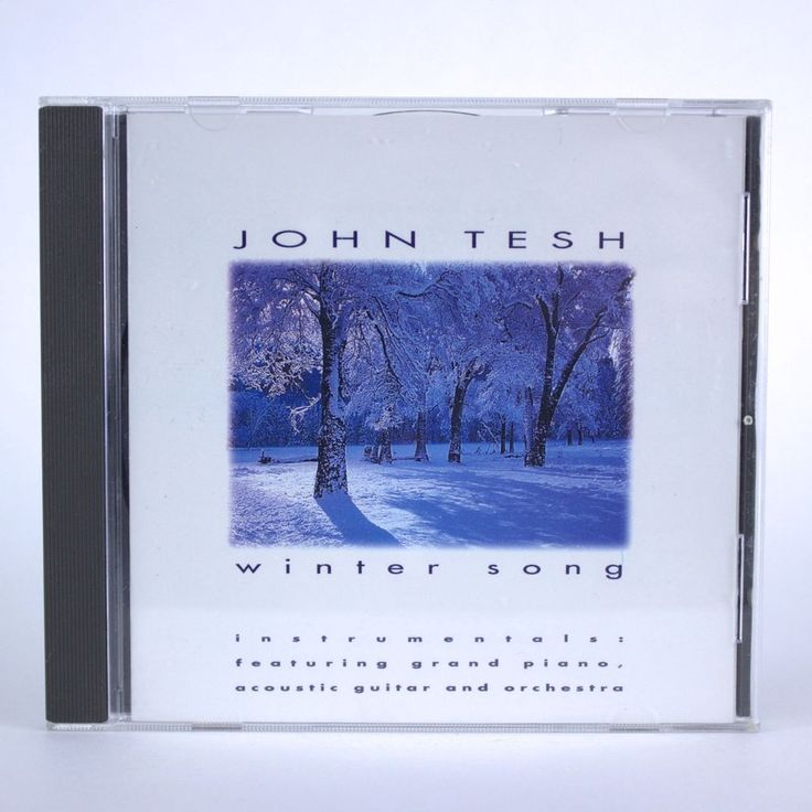 Winter Song by John Tesh - Seasonal Christmas Holiday Music - Audio CD