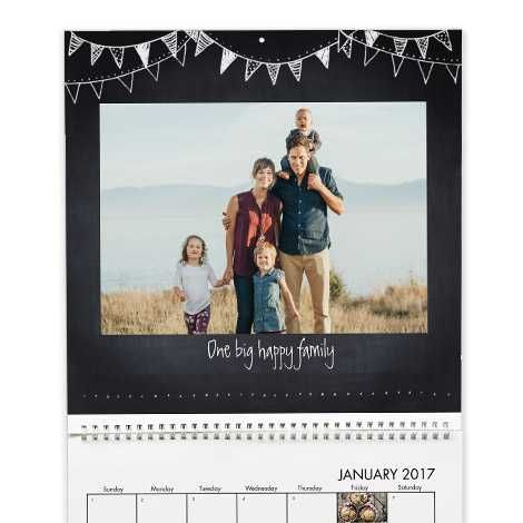 An Ancestor Photo CALENDAR. You can make one from many online sites including Walgreens and Costco. I like Snapfish.