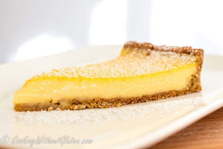 Выпечка без глютена из гречневой крупы - Лимонный тарт