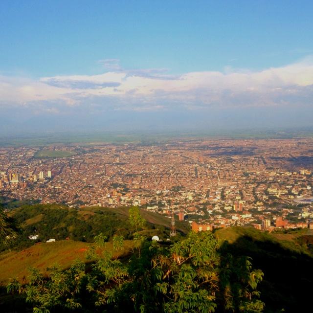 El hermoso Valle del Cauca desde el Cristo Rey
