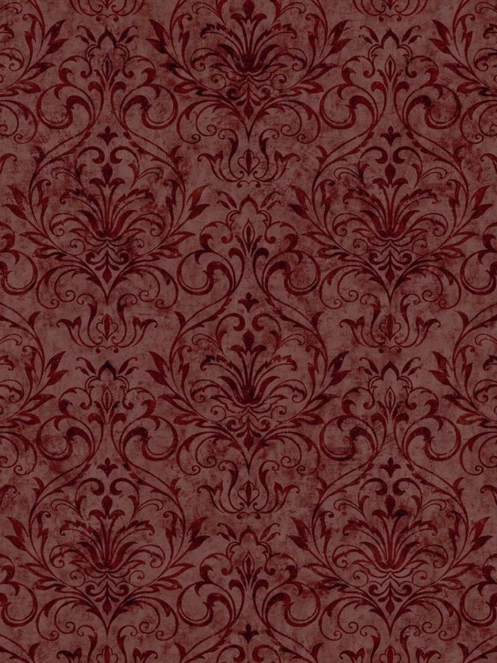 Primitive Decor-Burgundy Wallpaper Border | Combo wallpaper and ...