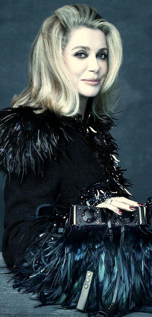 Louis Vuitton Campaign ss2014 - a Tribute to Marc Jacobs' Muses - Catherine Deneuve