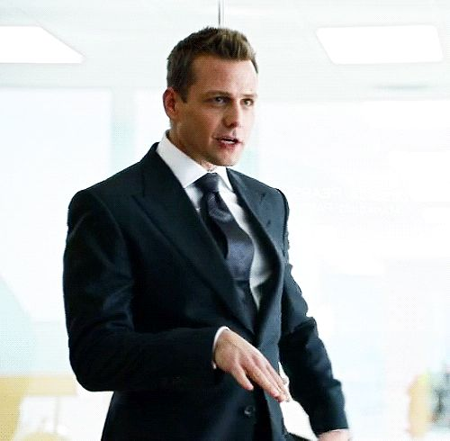 Suits Addict Why do i not have this already??!?! Gabriel Macht as Harvey Specter gif