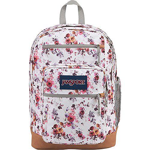JanSport Cool Student Backpack (Floral Memory)