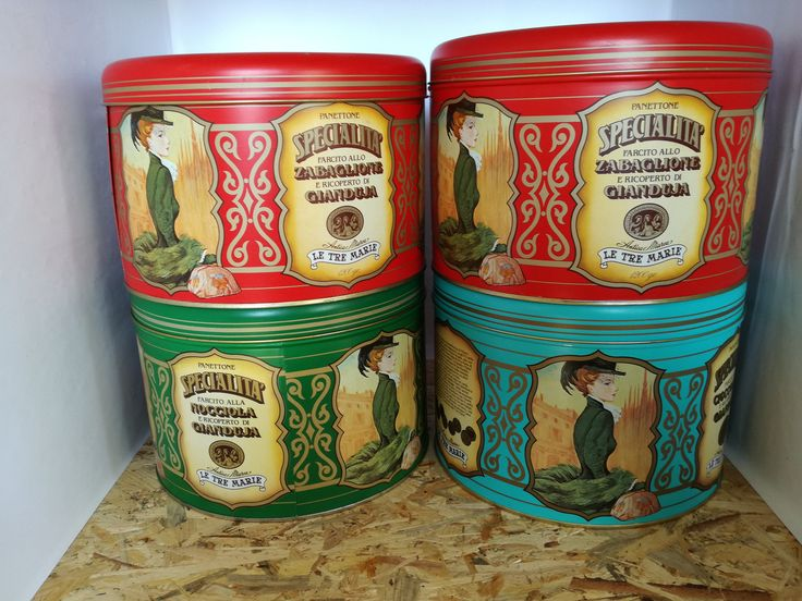 Scatole latta le tre Marie-scatole panettone-collezionismo pubblicitario-arredamento cucina-regalo inaugurazione-arredamento pub di lovelymore su Etsy
