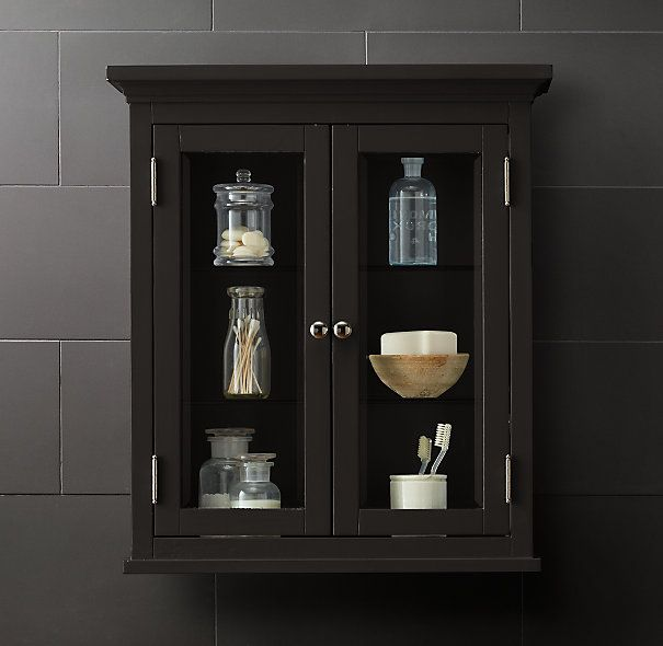 restoration hardware medicine cabinet knockoff