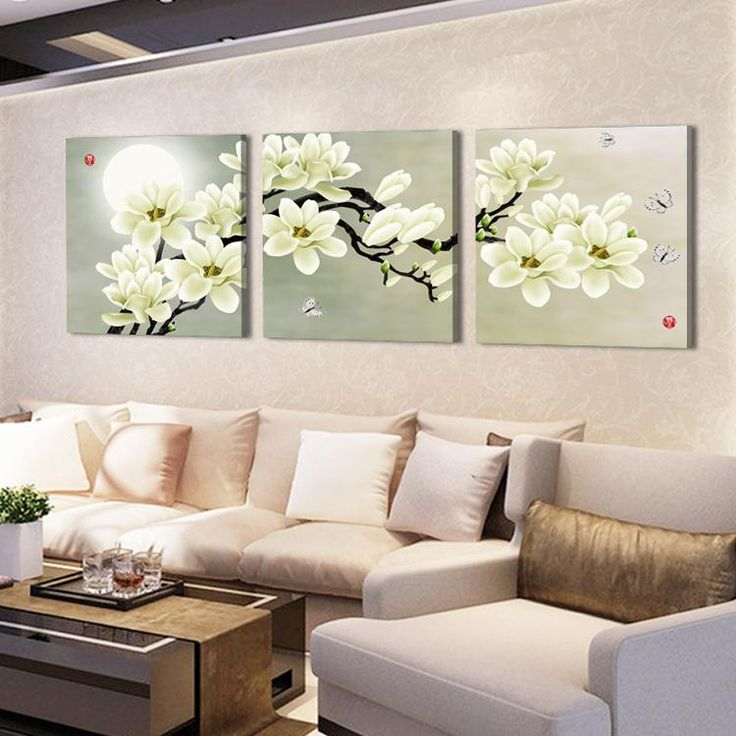 126 best oil painting images on pinterest chinese painting hot sell modern wall painting home decorative art picture paint on canvas prints pure white flowers mightylinksfo Choice Image