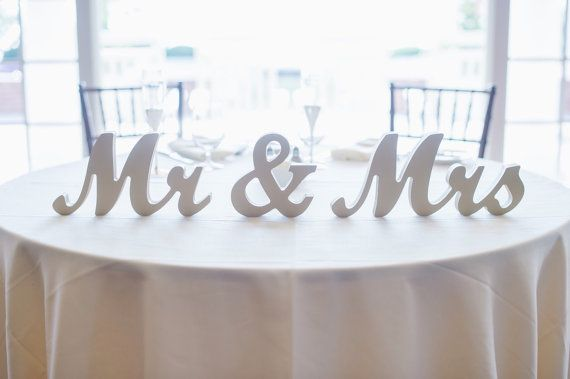 1000+ Ideas About Mr Mrs Sign On Pinterest