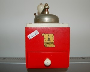 Go foraging in the 20 vintage and charity shops of Bexhill.   A lovely find: vintage red coffee grinder  http://dunescape.co.uk/a-foragers-guide-to-the-brilliant-vintage-and-charity-shops-of-bexhill/