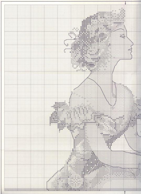 7 best Spring Queen images on Pinterest | Punto de cruz, Mujer y ...