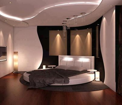 Iluminare simpla si calda in dormitor