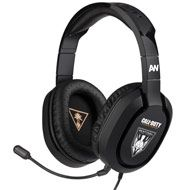 Dominate future battles with the Call of Duty® Advanced Warfare Ear Force Sentinel Task Force Gaming Headset for PS4. High-quality digital game and chat audio driven by 50mm speakers set in a comfortable, lightweight headset will have you engaged for hours of gameplay. The in-line amplifier features adjustable Bass Boost, Master Volume, Mic Mute and Mic Monitoring for easy communication with teammates. And to game on the go, pop out the removable, high-sensitivity mic and connect to your…