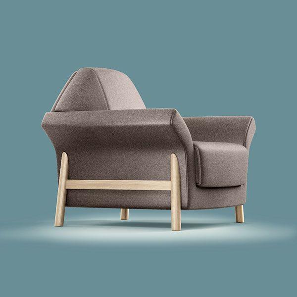 FAB furniture set. Project 2014.Zaskakujące połączenia. FAB to zestaw mebli który potrafi zadziwić. Drewniane nogi wtapiające się w rozłożyste, wygodne siedziska, tapicerowane podstawy stolików, parawan stworzony z pojedynczych paneli i lustra. Wszystko …