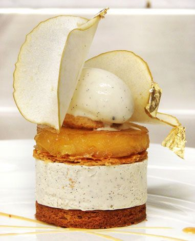 Apple Tarte Tatin - by Emanuel Ryon - world champion patissiere - wow go look at this other work!!!!