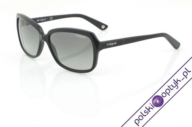 Okulary przeciwsłoneczne damskie Vogue VO 2660-S W44/1 #okulary #glasses #eyewear #eyeglasses #oprawki #sunglasses #vogue