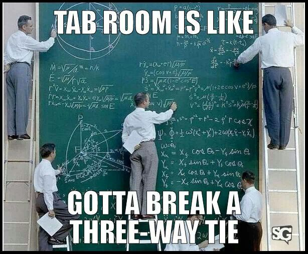 oh how i would love to see how the tab room runs