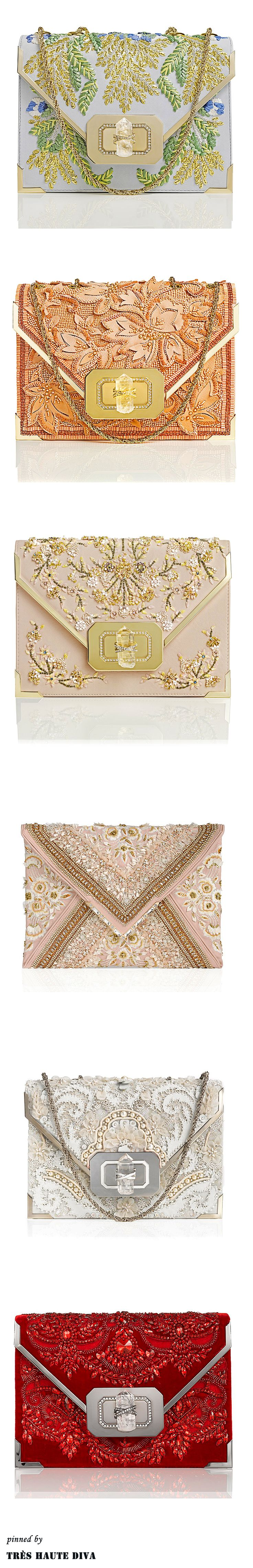 Marchesa Evening Clutches S/S
