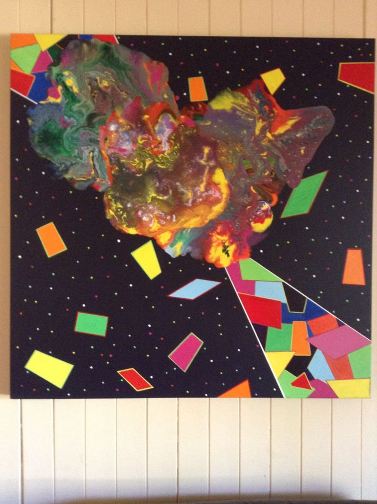Mind blown  Artist; Garry Winfield