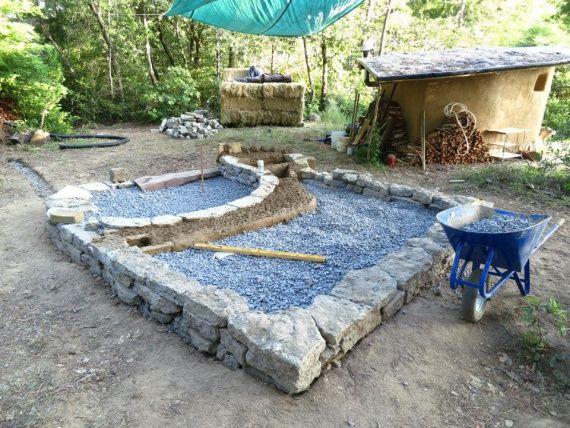 фундамент для дома из глины